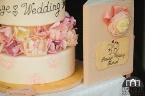Весільний торт та Книга побажань