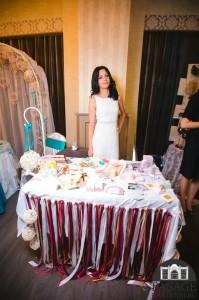Стенд з весільною поліграфією