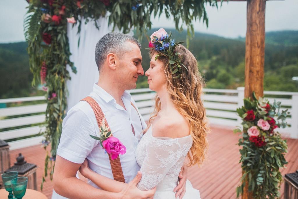 організація весілля в карпатах